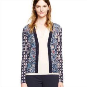 TORY BURCH Wool Cardigan Sweater SZ SP